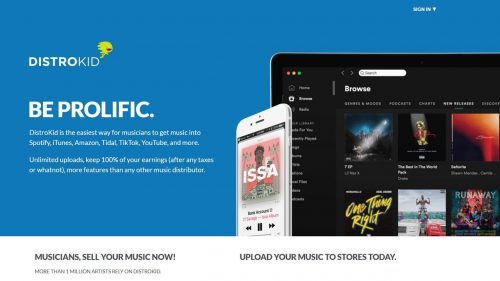 get music into Spotify, iTunes, Amazon, Tidal, TikTok, YouTube, and more